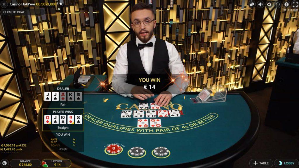 Casino Hold'em Live Casino