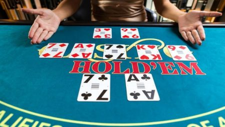 Casino Hold'em in a Live Casino