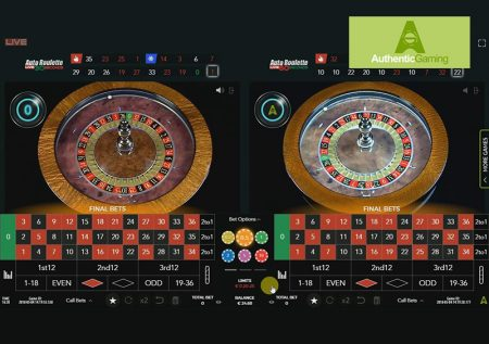 Authentic Roulette Double Wheel