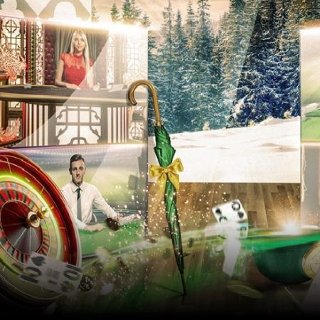 The Live €1,500 Yuletide Challenge for All Live Casino Players Starts at Mr Green Casino Today!