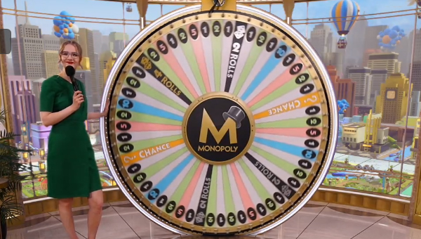Monopoly Live Spins The Wheel