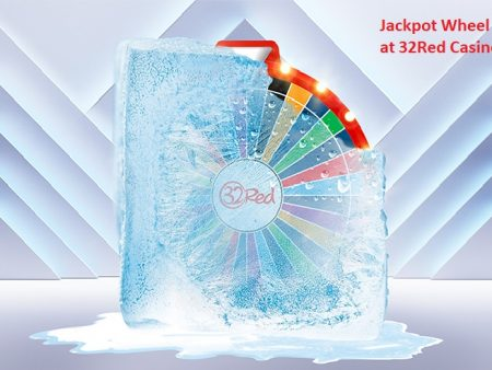 Spin the Jackpot Wheel of Cash at 32Red and Play for a Daily Chance of Winning £5,000!