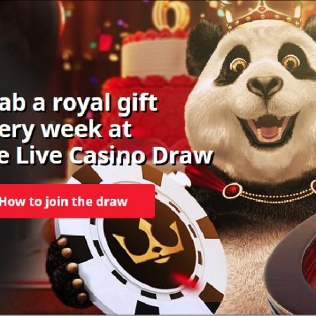 Royal Panda Casino Celebrates Its 6th Birthday with Weekly Live Casino Draws throughout March
