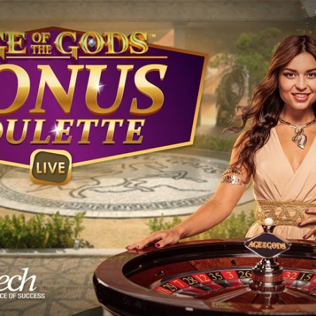 Playtech's Age of the Gods Bonus Live Roulette Has Been Launched Network-Wide