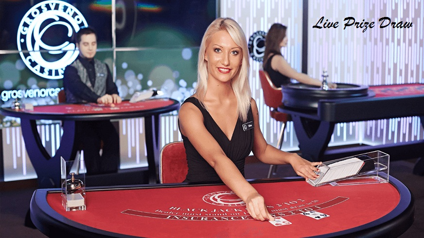 Play Your Favourite Live Casino Games at Grosvenor Casino and Take Part of the £300 Prize Draw!