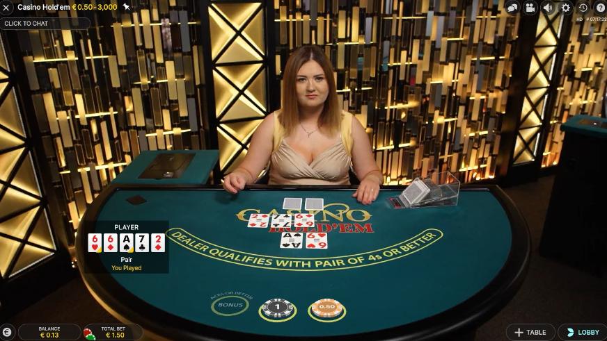 Texas Hold'em Live Poker Glossary