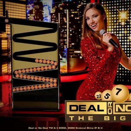 Playtech Lança um Novo Jogo de Casino ao Vivo Exclusivo, Deal or No Deal The Big Draw