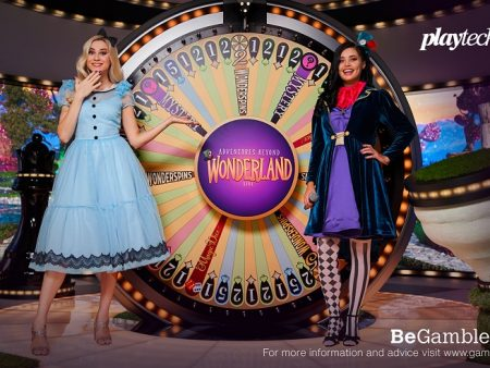 Playtech gaat live met Adventures Beyond Wonderland Game Show