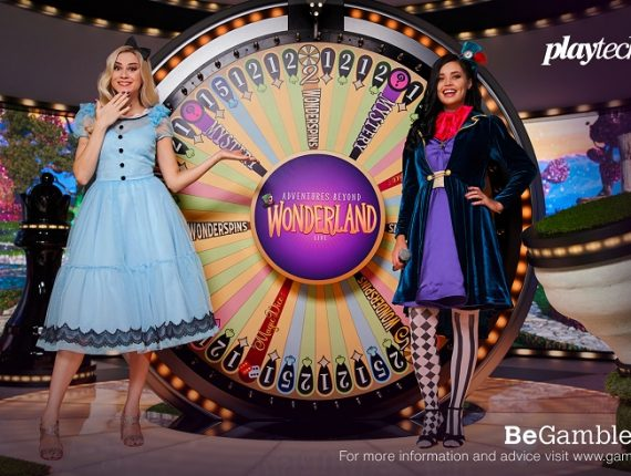 Playtech Goes Live With Adventures Beyond Wonderland Game Show