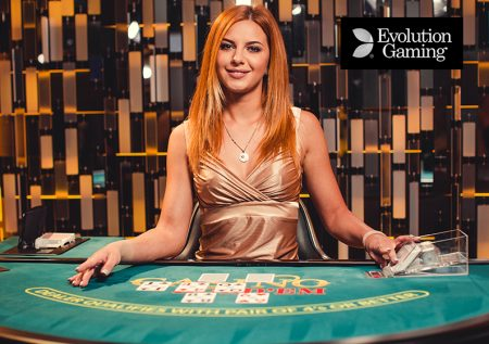 Live Casino Hold'em Evolution