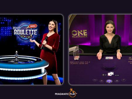 Presenting Pragmatic Play's New Mega Roulette & ONE Blackjack