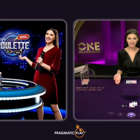 Presenting Pragmatic Play's New Mega Roulette & ONE Blackjack