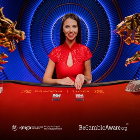 Get Ready for Pragmatic Play's Newest Live Casino Title: Dragon Tiger!