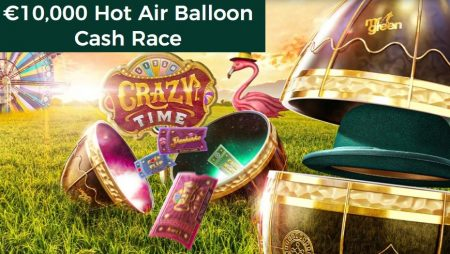 The €10,000 Hot Air Balloon Cash Race Is Up in the Air at Mr Green Casino!