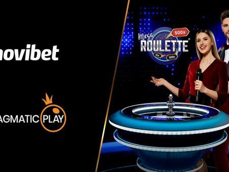 Novibet is het laatste casino die de live casino spellen van Pragmatic Play verwelkomt