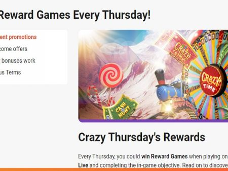 It's Time for Crazy Thursday Rewards at LeoVegas Casino!