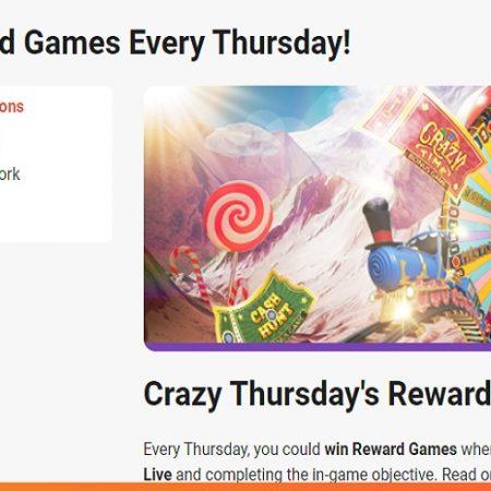 It's Time for Crazy Thursday Rewards at LeoVegas Casino!