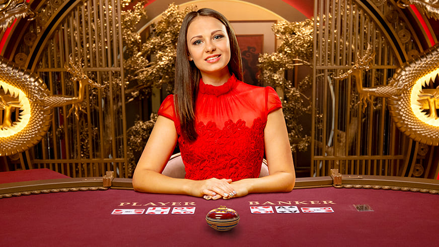 Learn to Play Evolution Golden Wealth Baccarat