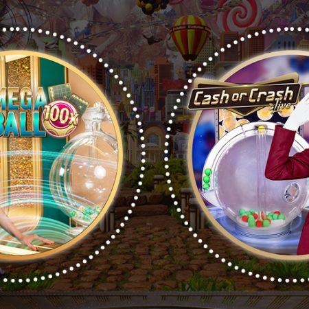 Evolution Cash or Crash and Mega Ball Compared